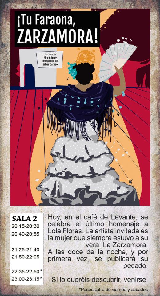 La Malhablada ¡Tu faraona, Zarzamora! Salamanca Marzo 2020