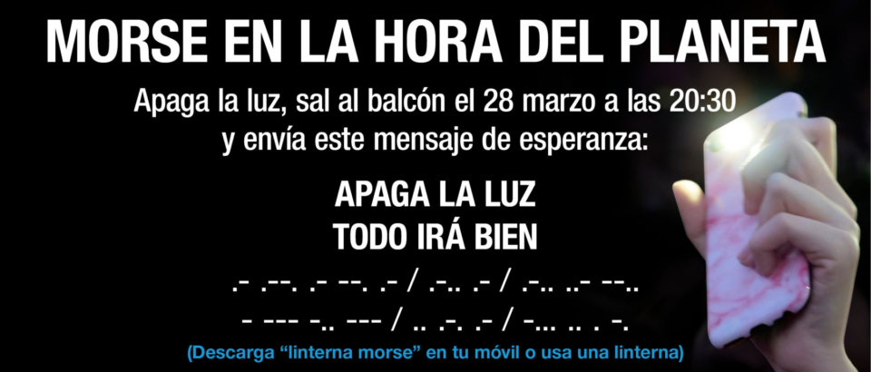 Salamanca Hora del Planeta Marzo 2020