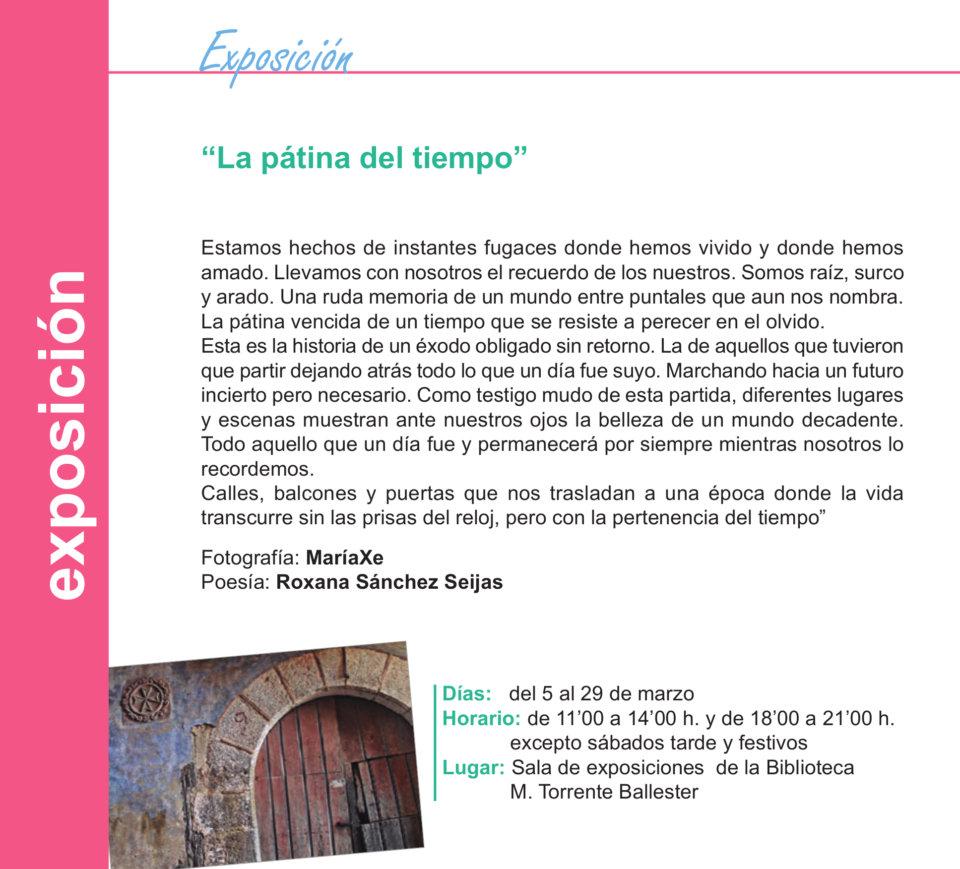 Torrente Ballester La pátina del tiempo Salamanca Marzo 2020