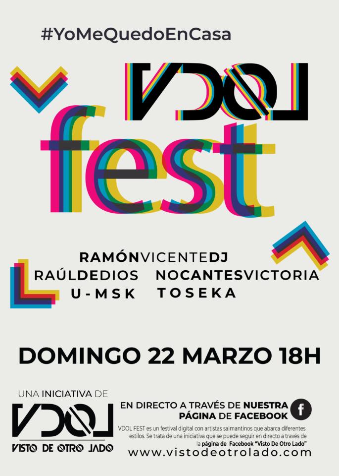 VDOL Fest #YoMeQuedoEnCasa 22 de marzo de 2020 Salamanca y resto del mundo