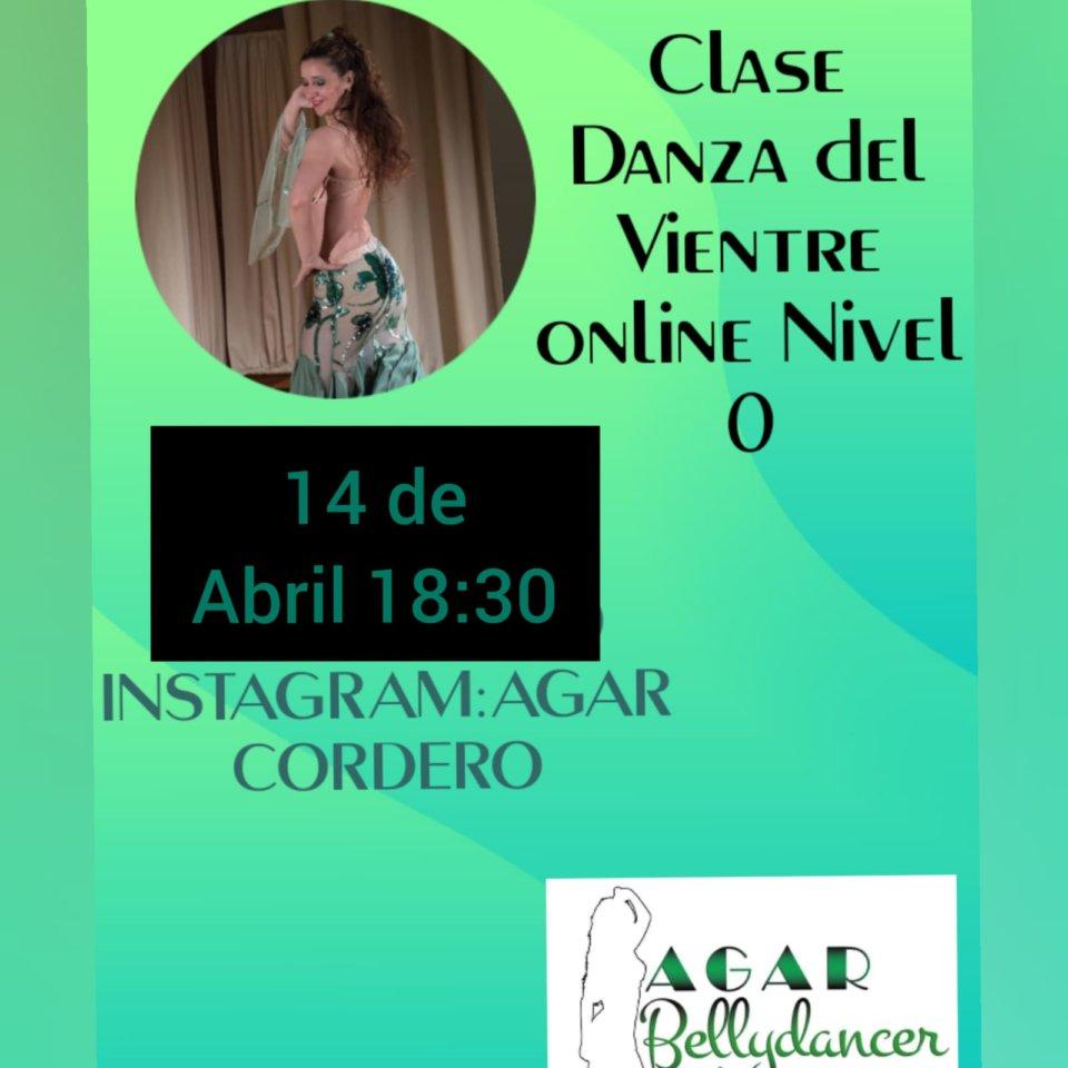 Agar Bellydancer Clase de Danza del Vientre 14 de abril de 2020 Salamanca y resto del mundo