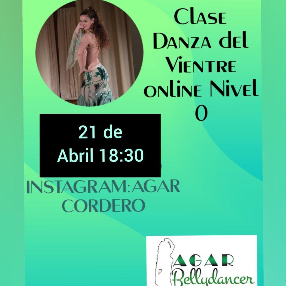 Agar Bellydancer Clase de Danza del Vientre 21 de abril de 2020 Salamanca y resto del mundo