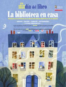 Día Internacional del Libro La biblioteca en casa Salamanca y resto del mundo Abril 2020