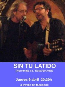Fernando Maés Sin tu latido 9 de abril de 2020 Salamanca y resto del mundo