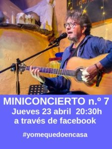 Fernando Maés #YoMeQuedoEnCasa 23 de abril de 2020 Salamanca y resto del mundo