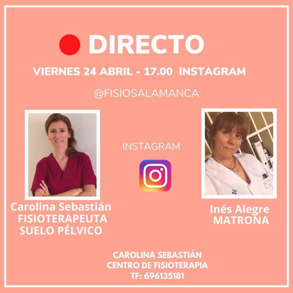 Fisio Salamanca Charla Abierta Abril 2020
