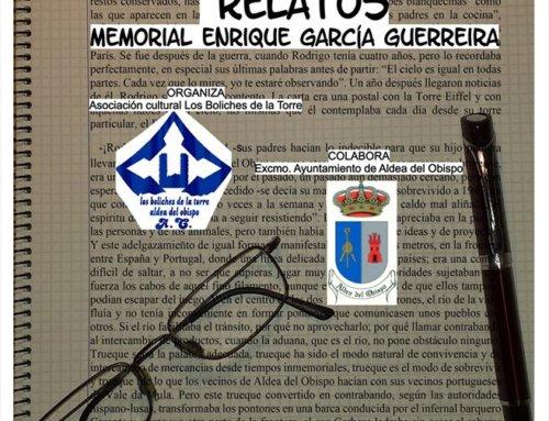 La Asociación Cultural Los Boliches de la Torre de convoca su XII Certamen de Relatos Cortos