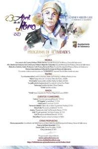 Programa Día Internacional del Libro Salamanca y resto del mundo Abril 2020
