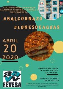 Salamanca Lunes de Aguas #Balcornazo Abril 2020