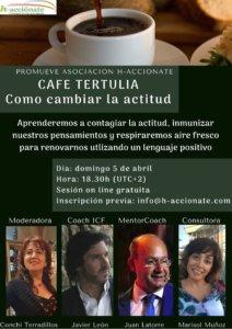 h-acciónate Cómo cambiar la actitud Salamanca y resto del mundo Abril 2020