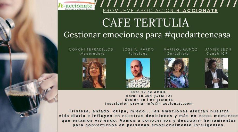 h-acciónate Gestionar emociones para #quedarteencasa Salamanca y resto del mundo Abril 2020