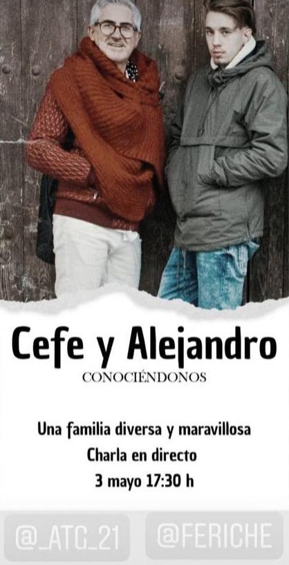 Cefe y Alejandro Conociéndonos 3 de mayo de 2020 Salamanca