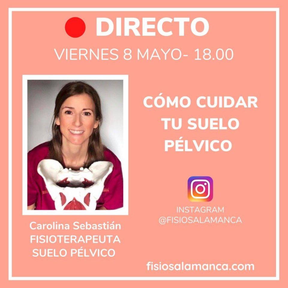 Centro de Fisioterapia Carolina Sebastián Charla Abierta 8 de mayo de 2020 Salamanca