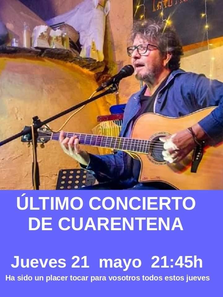 Fernando Maés #YoMeQuedoEnCasa 21 de mayo de 2020 Salamanca y resto del mundo