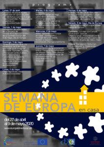 Semana de Europa #EnCasa Centro de Información Europe Direct Salamanca Abril mayo 2020