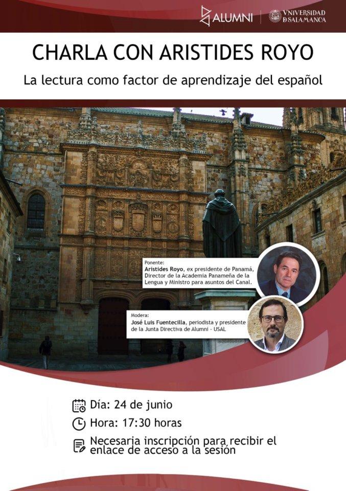 Alumni-Usal Aristides Royo Salamanca y resto del mundo Junio 2020