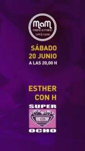 Bar Mano a Mano Dj Esther con H Salamanca Junio 2020