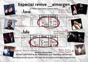 Espacio Almargen Especial Revive Salamanca Junio julio 2020
