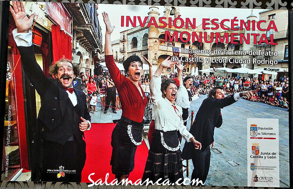 La Salina Invasión escénica monumental Salamanca 2020