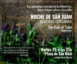 Letras Corsarias Noche de San Juan Salamanca Junio 2020