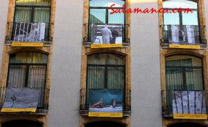 Plaza del Liceo Salamanca desde mi balcón 2020