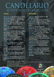 Actividades Verano 2020 Candelario