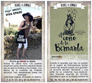 La Malhablada Buffeteatro en tres actos Salamanca Agosto 2020