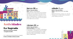 La Sagrada Noches de Cultura Julio agosto 2020