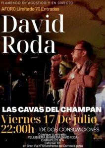 Las Cavas del Champán David Roda 17 de julio de 2020 Salamanca