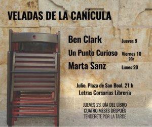 Letras Corsarias Veladas de la Canícula Salamanca Julio 2020