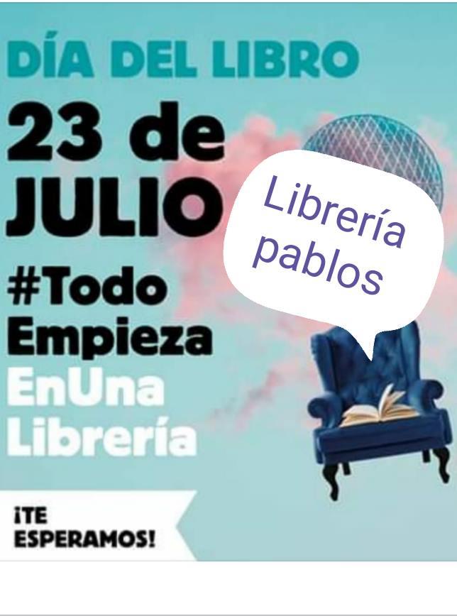 Librería Pablos Día del Libro Salamanca Julio 2020