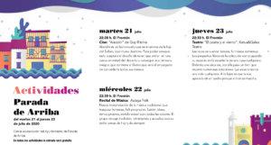 Parada de Arriba Noches de Cultura Julio 2020