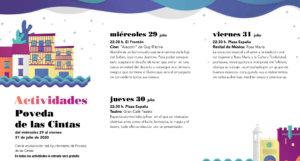 Poveda de las Cintas Noches de Cultura Julio 2020