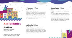 Rollán Noches de Cultura Julio 2020