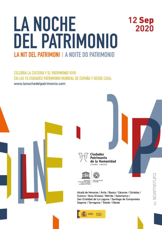 Salamanca La Noche del Patrimonio Septiembre 2020
