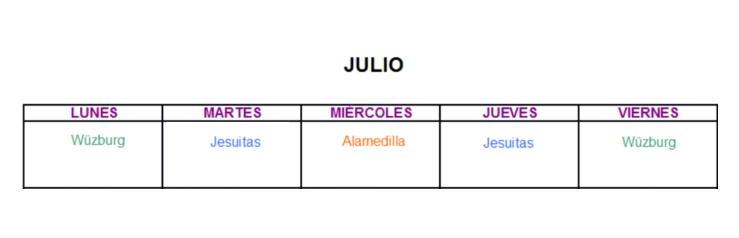 Salamanca Parques Municipales Biosaludables Julio 2020
