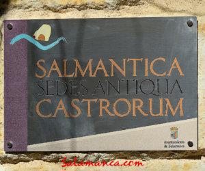 Salmantica Sedes Antiqua Castrorum, Salamanca