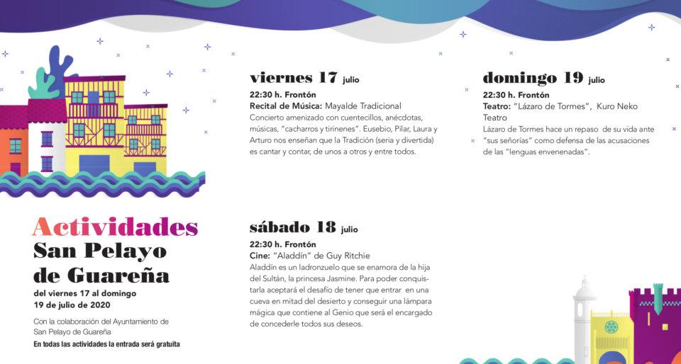 San Pelayo de Guareña Noches de Cultura Julio 2020
