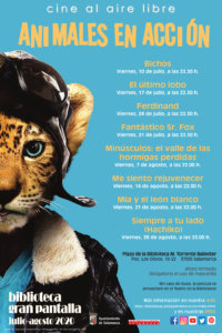 Torrente Ballester Cine al aire libre Salamanca 2020