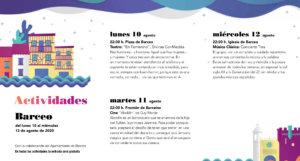 Barceo Noches de Cultura Agosto 2020