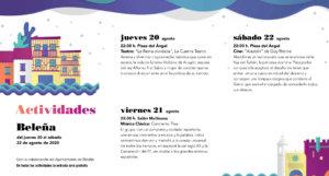 Beleña Noches de Cultura Agosto 2020