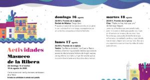 Masueco de la Ribera Noches de Cultura Agosto 2020