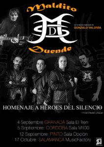 Music Factory Maldito Duende Salamanca Octubre 2020