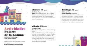 Pajares de la Laguna Noches de Cultura Agosto 2020