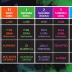Programa Santa Marta de Tormes Volatiritormes Agosto septiembre 2020