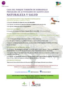 Sobradillo Naturaleza y Salud Agosto 2020