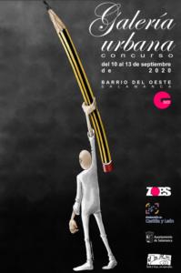 Barrio del Oeste Galería Urbana Salamanca Septiembre 2020