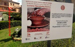 Basílica de Santa Teresa Tradición alfarera en la colección de Luciano Hernández Ramos Alba de Tormes Agosto septiembre 2020