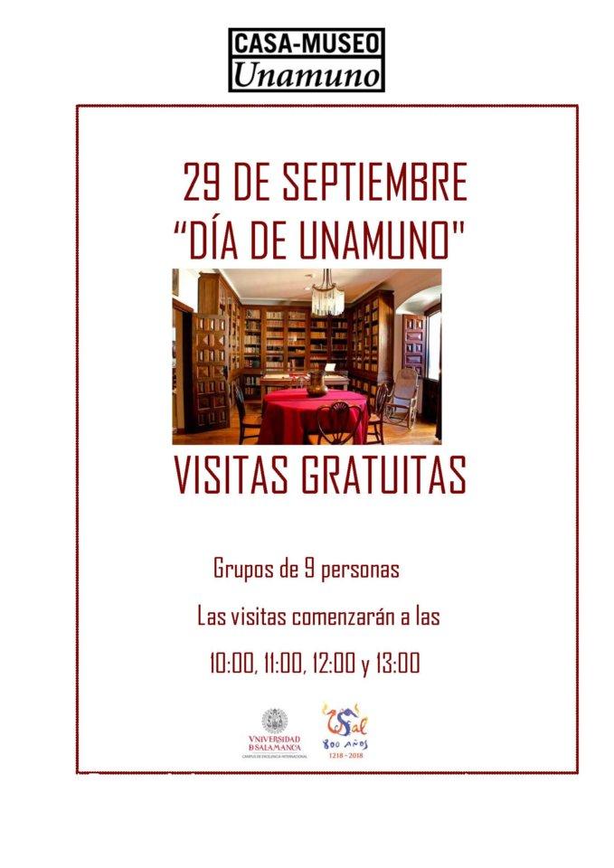 Casa Museo Miguel de Unamuno Día de Unamuno Salamanca Septiembre 2020