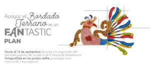 Centro Comercial El Tormes Bordado Popular Serrano Santa Marta de Tormes Septiembre 2020